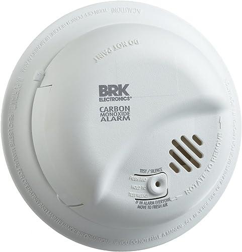 First Alert BRK CO5120BN Hardwire Carbon Monoxide Alarm with Battery Backup 2 Pack