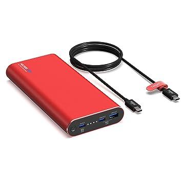 90W Bateria Externa Carga Rapida, 20000mAh Powerbank ...