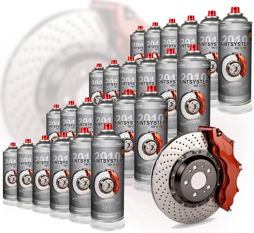 Paintsystems Bremsenreiniger Teilereiniger Brake Cleaner 24x 500ml Spraydose Auto
