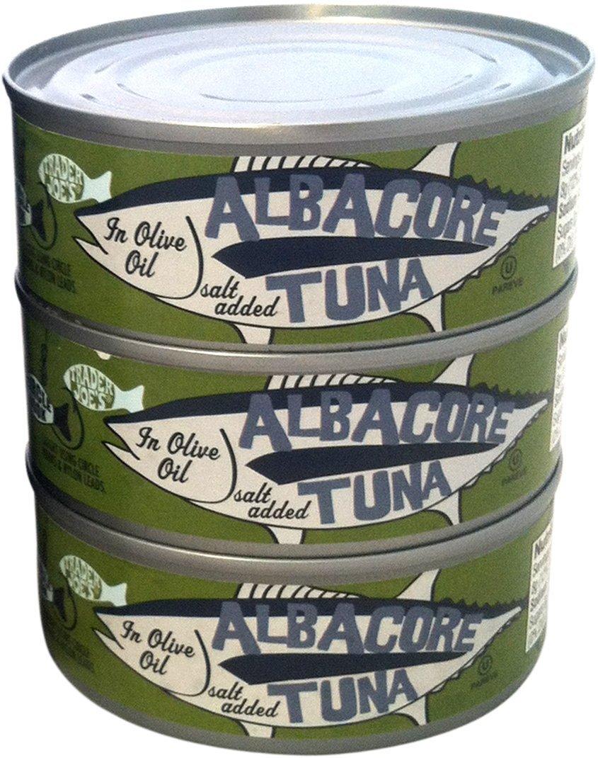 Trader Joe's Albacore Tuna in Olive Oil - 3 Pack