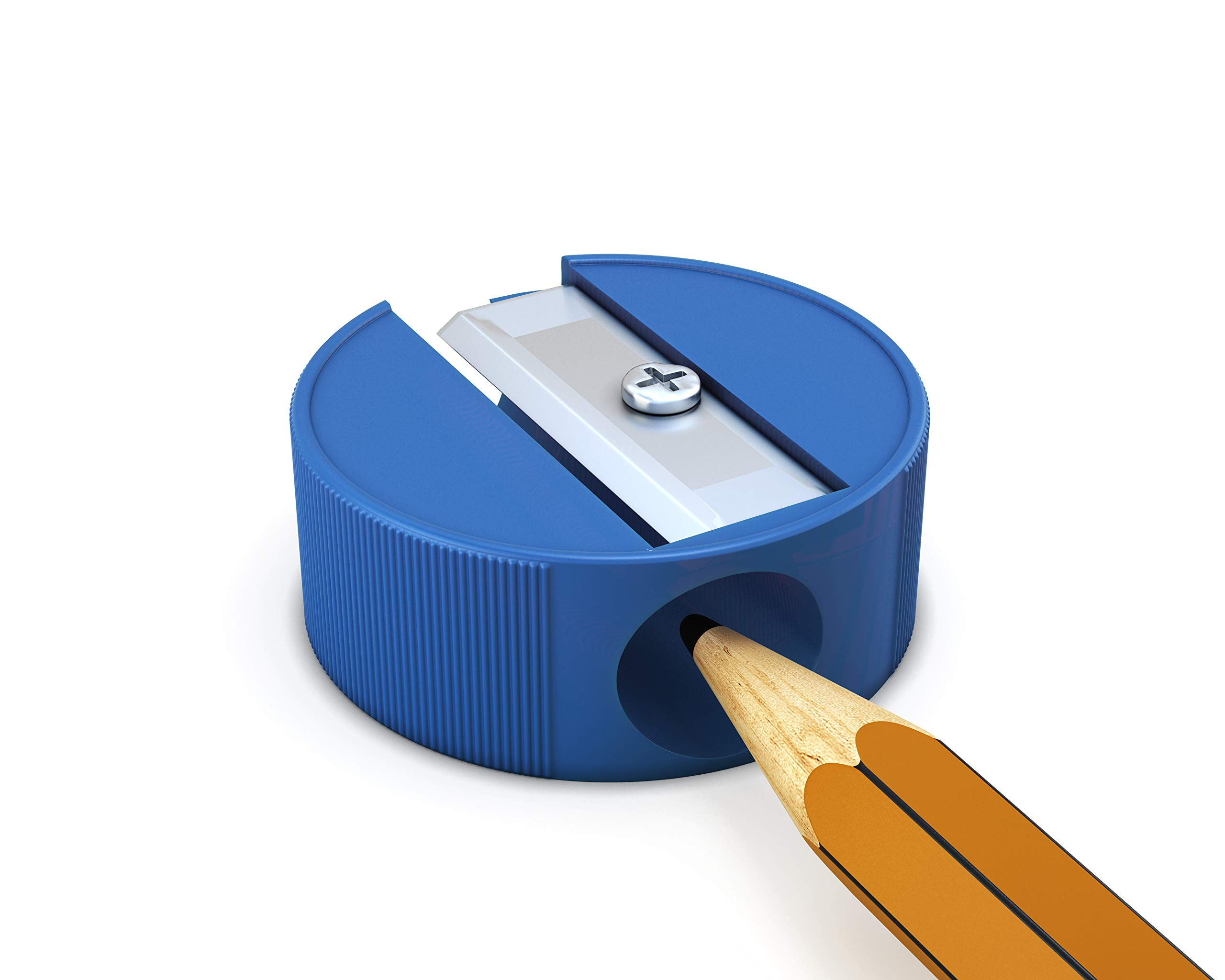 Neliblu Bulk Pencil Sharpeners, 144 Manual Sharpeners