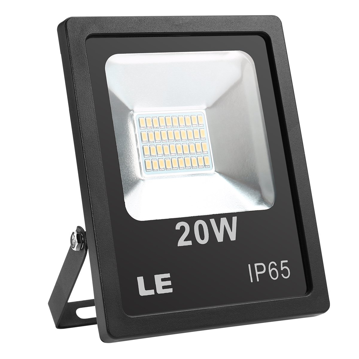 LE 20W 1600lm Super Bright Outdoor LED Flood Lights, Warm White 3000K, 200W Halogen Bulb Equivalent, Waterproof, Security Lights, Indoor & Outdoor Floodlight.