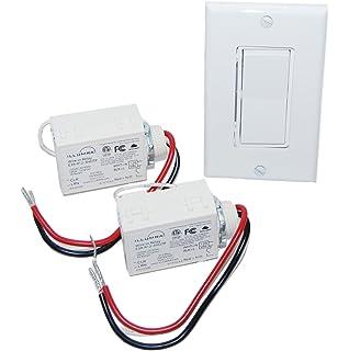 Basic Wireless Light Switch Kit - Wall Light Switches ... on