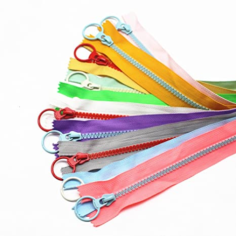 5 x no size 3 nylon closed end zips colours and length co sewing diy crafts