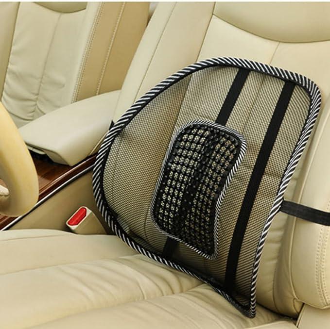 Zehui Coussin lombaires avec perles de massage pour si/ège de voiture