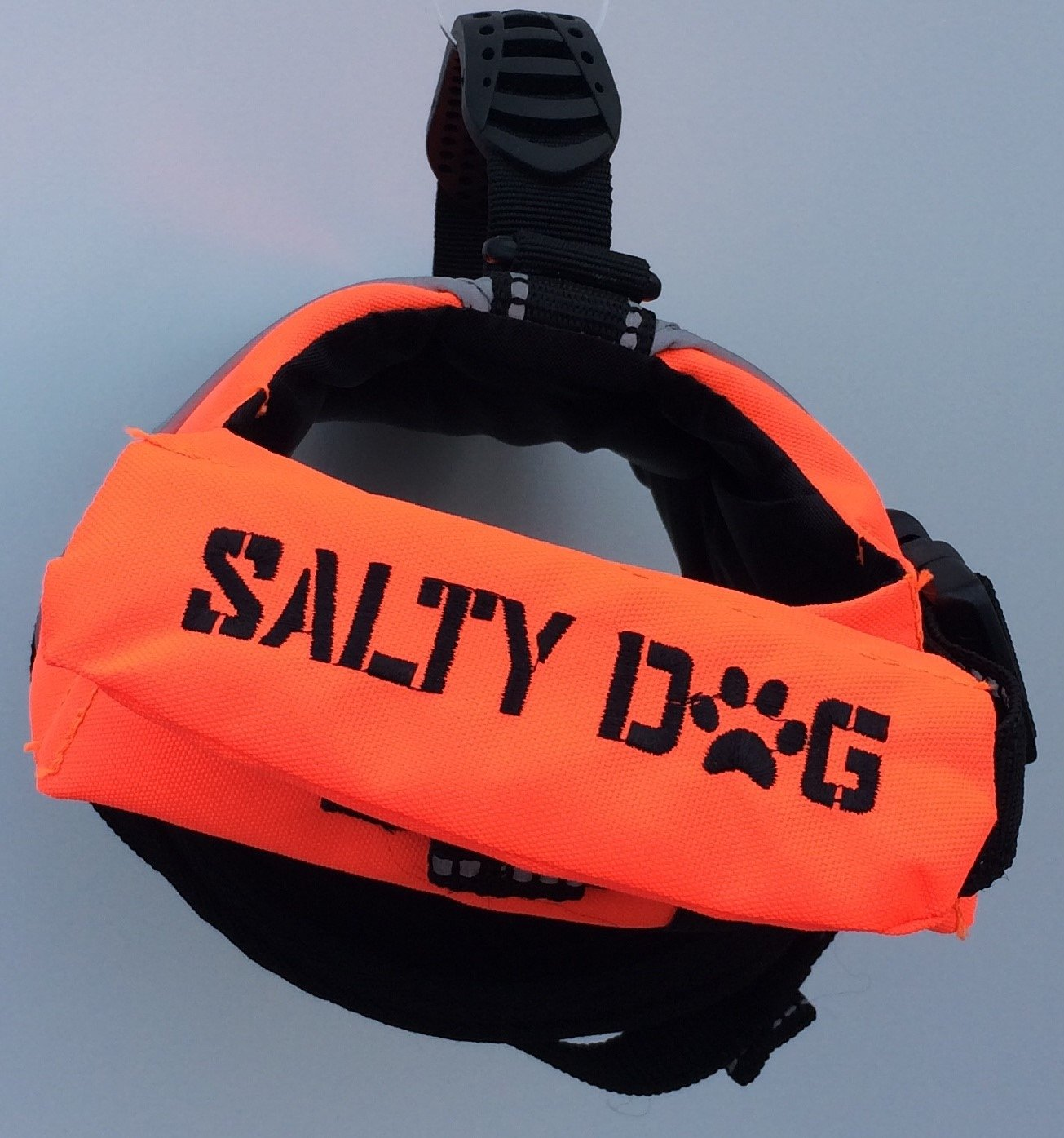 Petego Salty Dog Pet Life Vest, XX-Small, Fits Girth 13 to 17-Inch, Orange