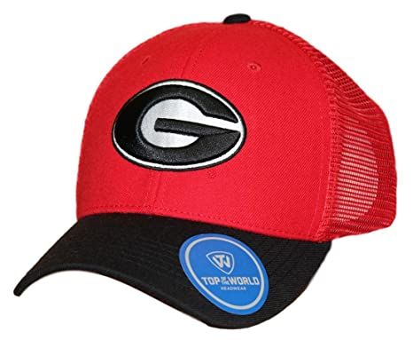 Amazon.com   Top Of The World NCAA Georgia Bulldogs Men s Series Hat ... 6d01cedd2afe