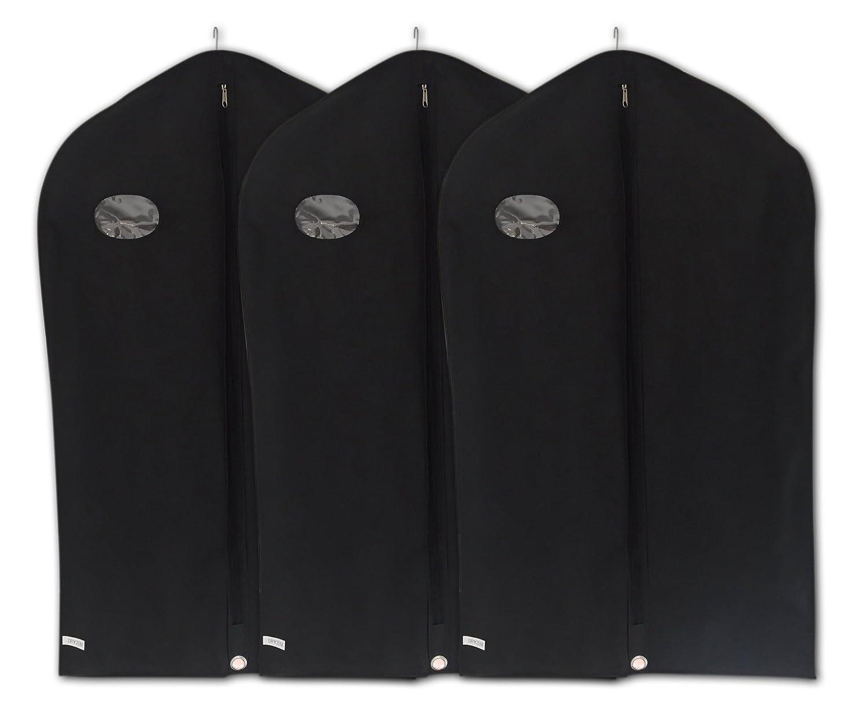 Kleidersack von Dryzem, 3 atmungsaktive Schutzhü llen fü r Anzü ge, Hemden, Kleider und Roben CAJCOM Ltd