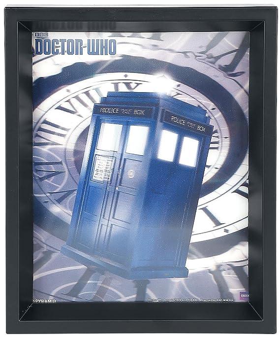 Doctor Who Tardis Time Spiral 3D-Bild: Amazon.de: Küche