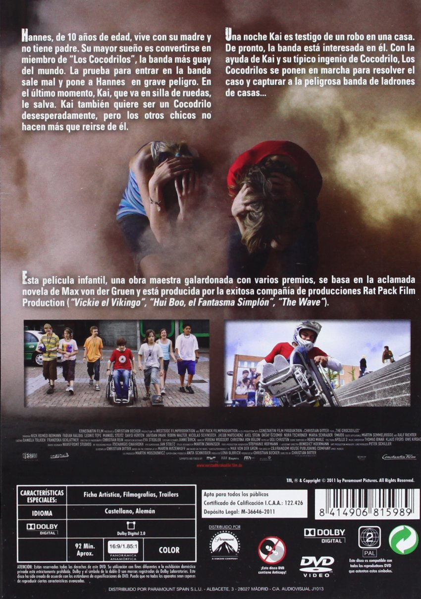 Amazon.com: Los Cocodrilos 1 (Import Movie) (European Format - Zone 2) (2011) Reimann, Nick Romeo; Albig, Fabian; Tepe: Movies & TV