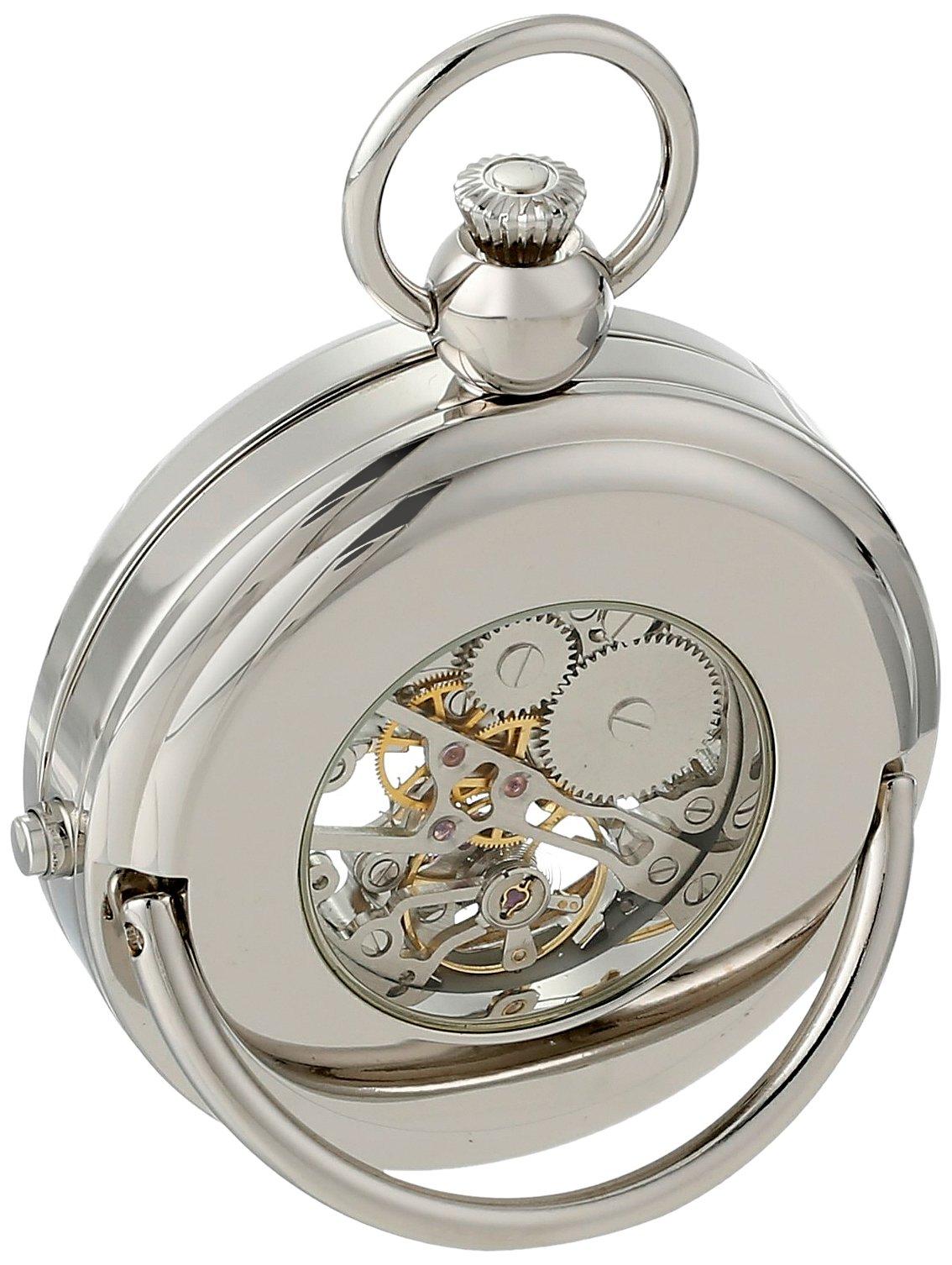 Charles Hubert 3849 Mechanical Picture Frame Pocket Watch by CHARLES-HUBERT PARIS (Image #3)