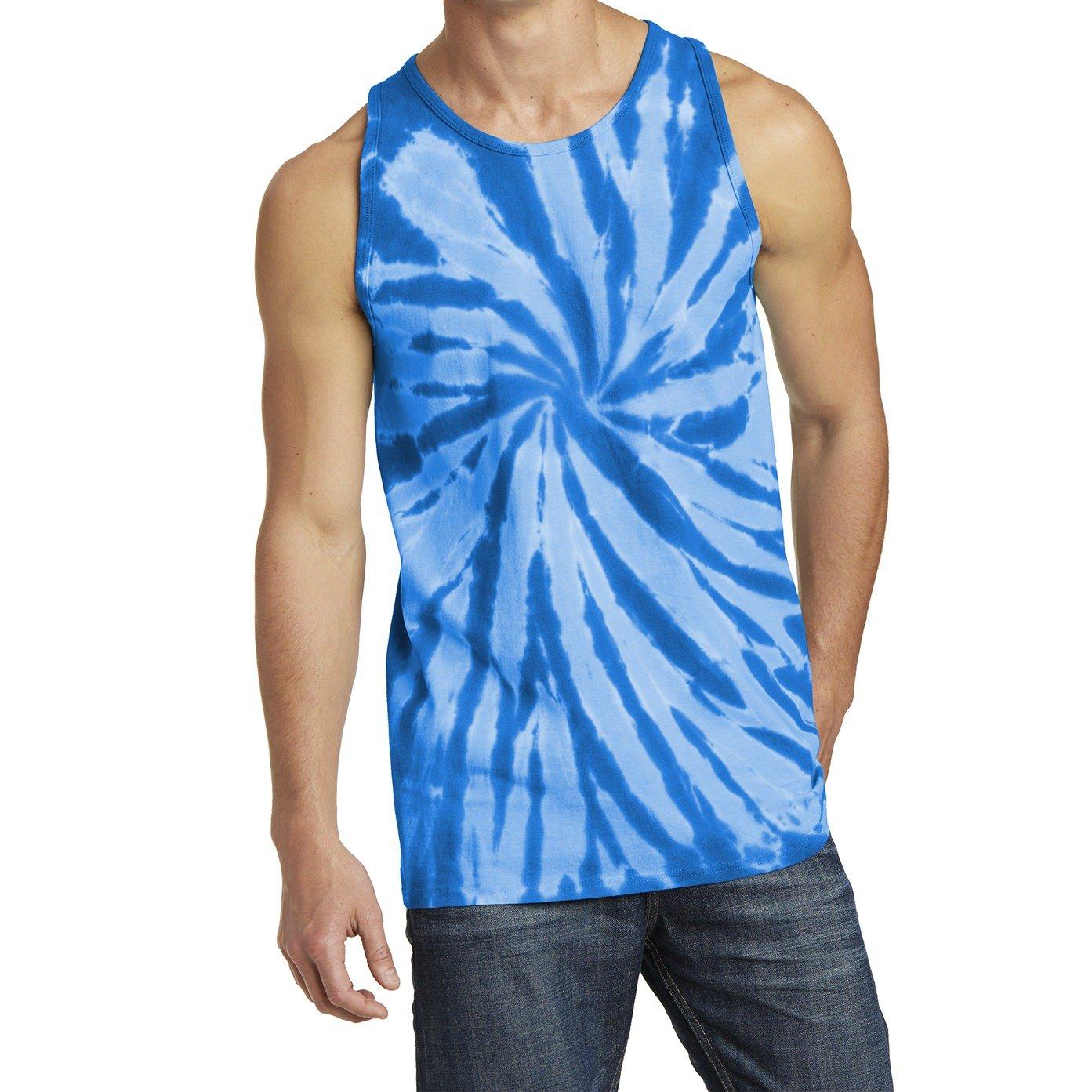 Mafoose Men's Tie-Dye Tank Top