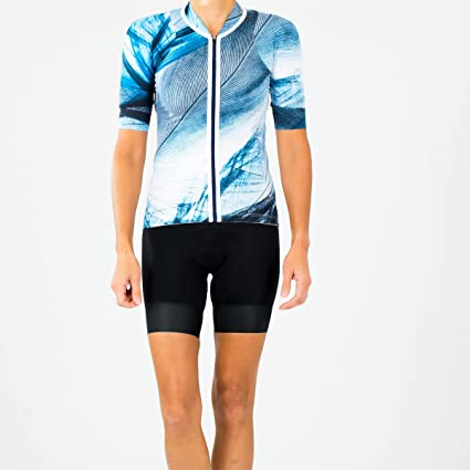 53a314dfe Shebeest 2018 Women s Sheena Plume Short Sleeve Cycling Jersey - 3239  (Plume-After Midnight