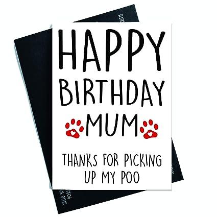 Tarjeta de felicitación de cumpleaños divertida de The Dog ...