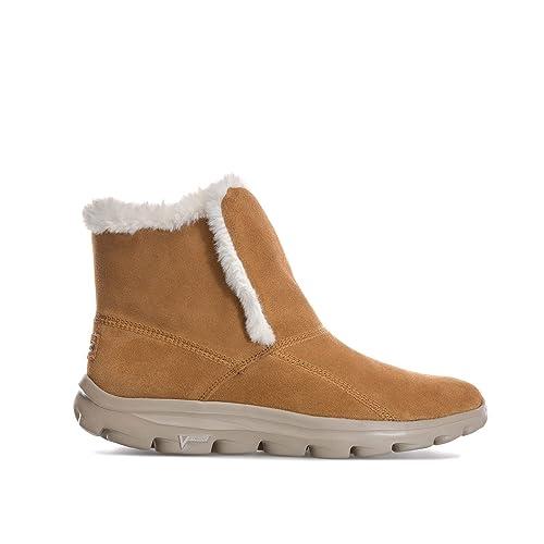 Skechers - Botas de Ante para mujer marrón marrón: Skechers: Amazon.es: Zapatos y complementos