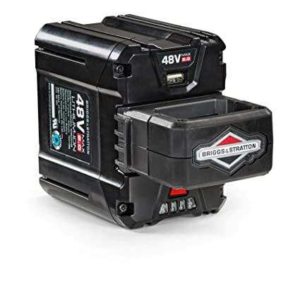 Briggs & Stratton 48V MAX 2 0 Lithium-ion Battery for Snapper HD Electric  Cordless tools, 1697088, BSB2AH48