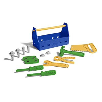 Green Toys Tool Set-Blue, Assorted: Toys & Games