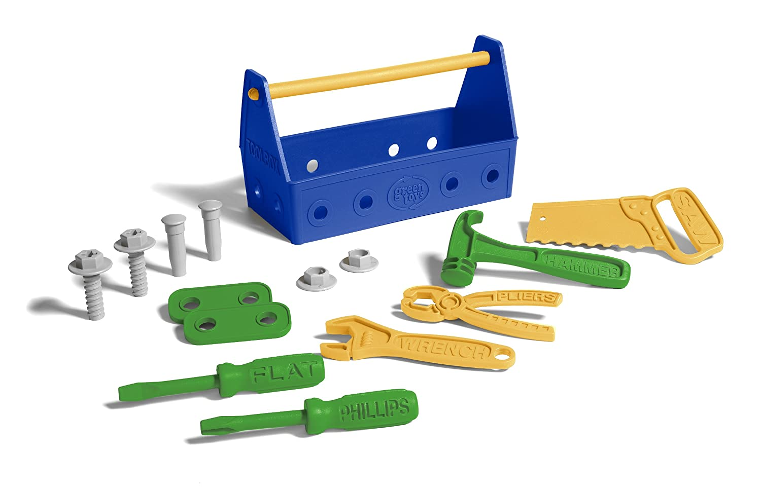 Green Toys Tool Set-Blue, Assorted TLSB2-1286