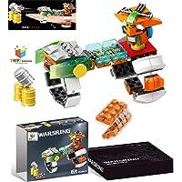 Toys Bhoomi 159 Pieces Target Shooting Building Blocks Bricks Construction Handheld DIY Gun Playset Toy for Kids