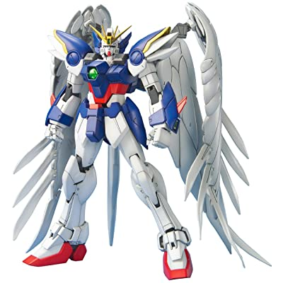Bandai Hobby Wing Gundam Zero Version EW 1/100 - Master Grade: Toys & Games