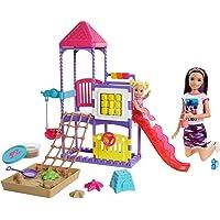 Barbie Skipper Babysitters Inc. Climb 'n Explore Playground Dolls & Playset with Babysitting Skipper Doll, Toddler Doll…