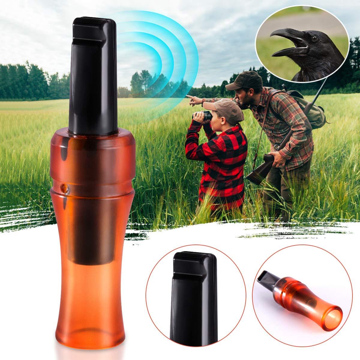 Crow Rook Call Hunter Hunting Call Caller Decoy Game Distress Shooting New