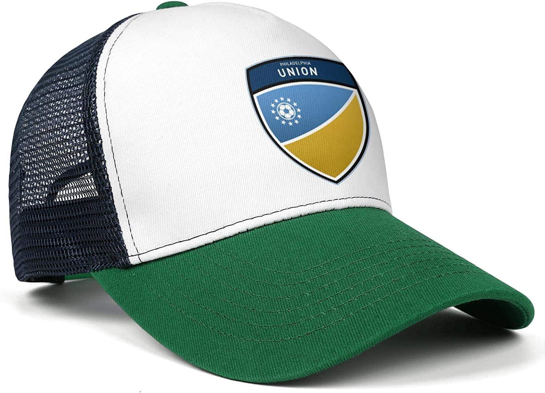 FengY LiJiCai Unisex Philadelphia-Cool-Union-Logo One Size Cowboy Hat Superlite Trucker Cap Snapback Hat Football Hats