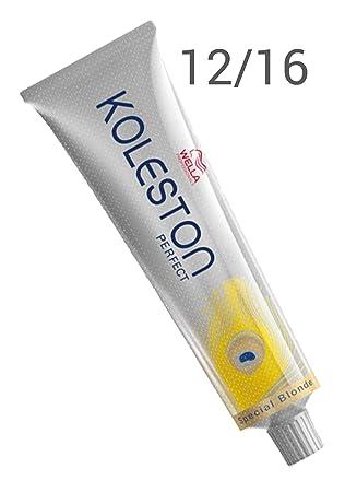wella coloration professionnelle koleston perfect 1216 blond cendr 60 ml - Coloration Professionnelle Wella