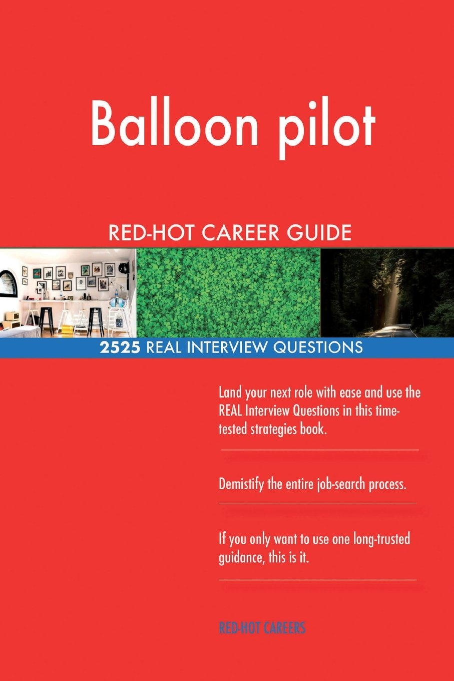 Read Online Balloon pilot RED-HOT Career Guide; 2525 REAL Interview Questions ebook