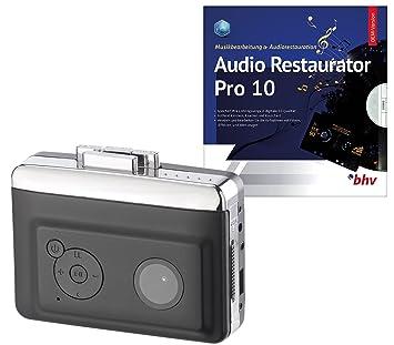 Auvisio - Reproductor de casetes: 2 in1 - Cartuchos para Digitalizado con audio Restaurator Pro 8 (USB láser Jugadores): Amazon.es: Electrónica