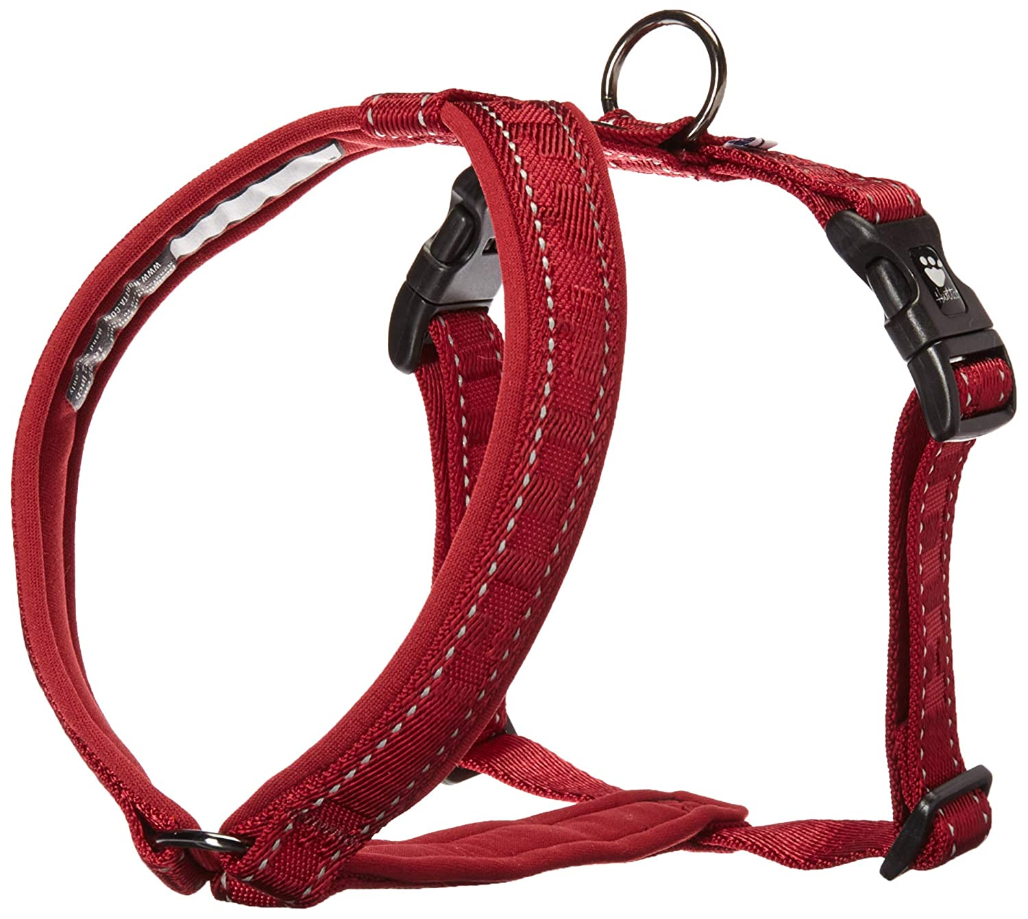 Lingon 1822 Hurtta Casual Padded Dog YHarness, Lingon, 32 in