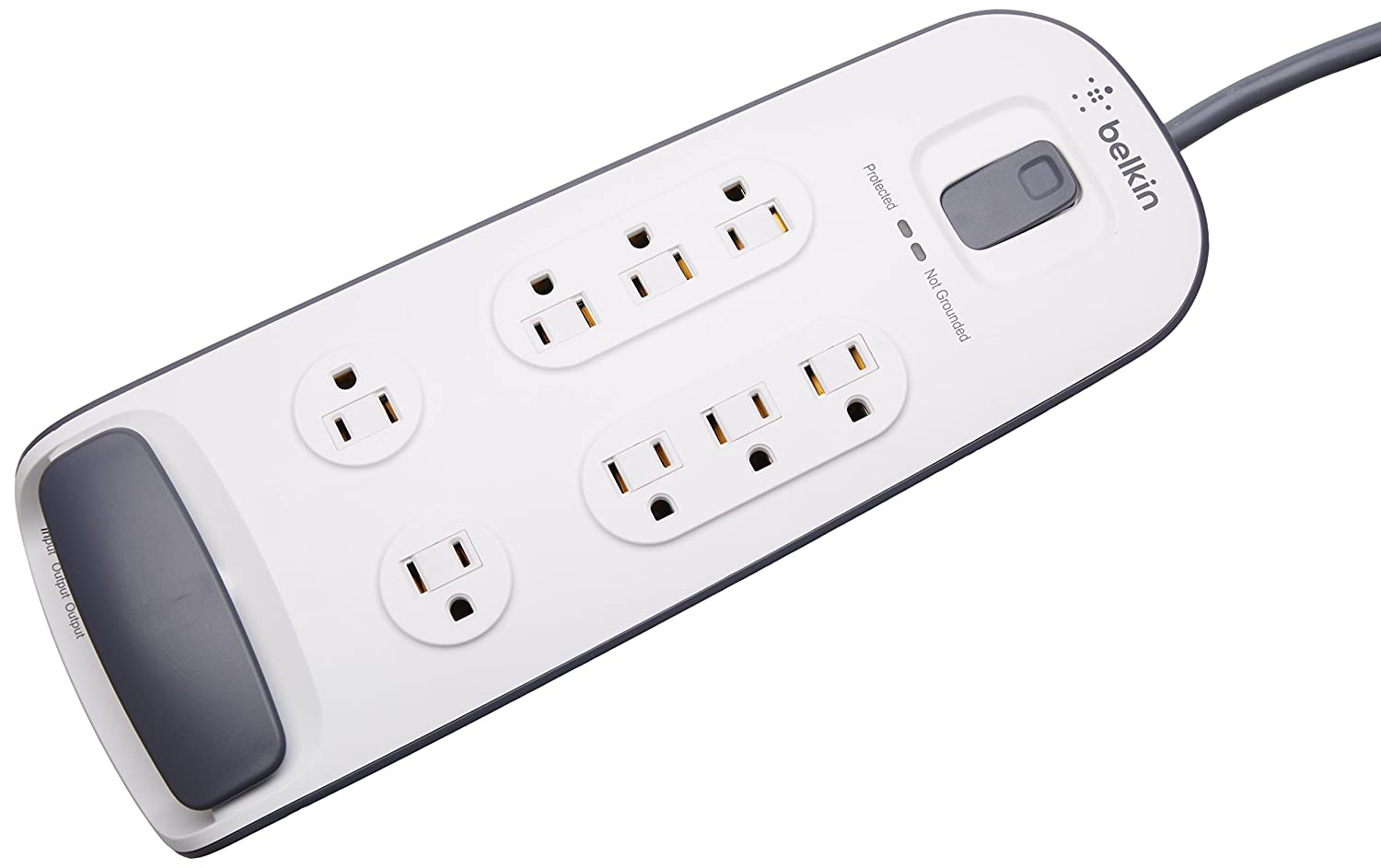 Belkin 8-Outlet Surge Protector with 6-Foot Cord (BV108200-06)