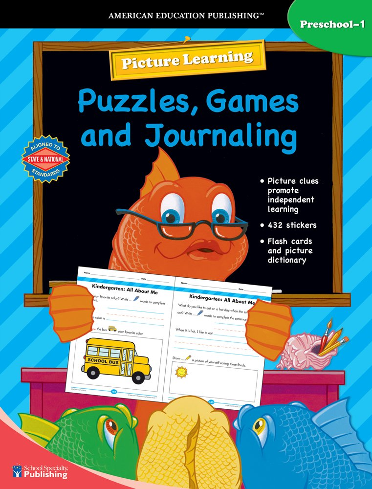 Read Online Picture Learning Puzzles, Games, and Journaling ebook