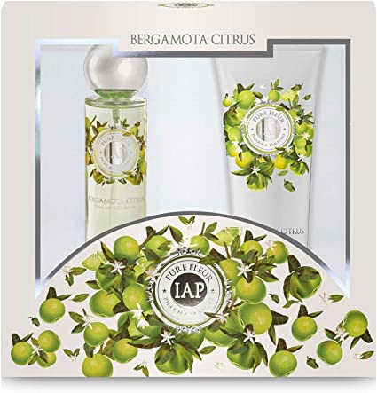 Iap Pharma Parfums Estuche - Perfume Pure Fleur 150ml y Body Milk Bergamota 230ml: Amazon.es: Belleza