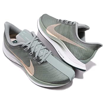Amazon.com: NIKE Womens Zoom Pegasus 35 Turbo Running Shoes, (Green/Pink, 10 B(US)): Sports & Outdoors