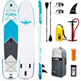 DAMA 9'6'/10'6'/12'2' Inflatable Stand Up Paddle Board, Yoga Board, Camera Seat, Floating Paddle, Hand Pump, Board…