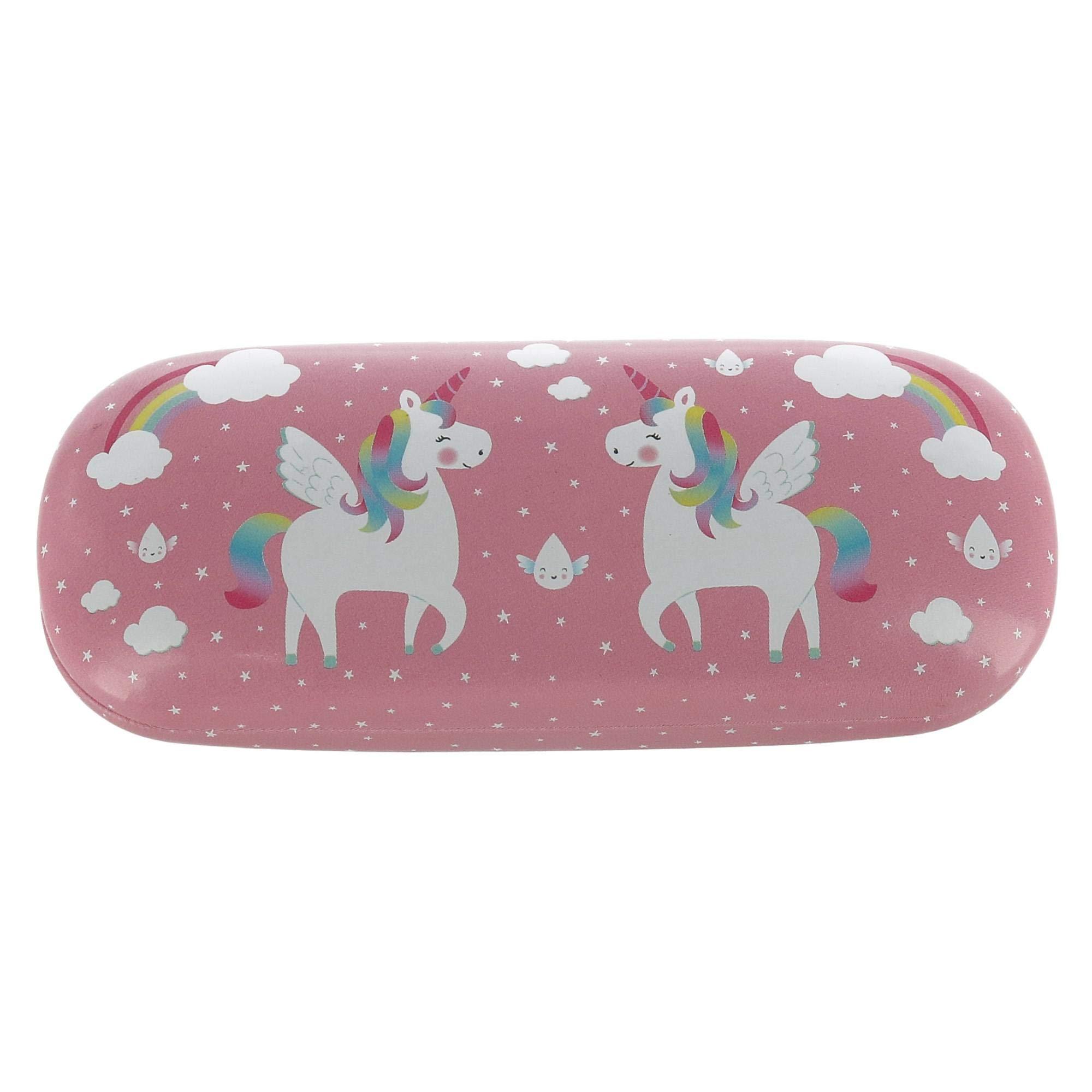 Sass & Belle Unicorn Hard Shell Glasses Case, Pink