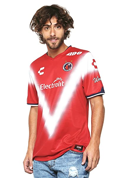 add86b7738183 Charly Jersey Tiburones Rojos de Veracruz Local Playera para Hombre Rojo  Talla L