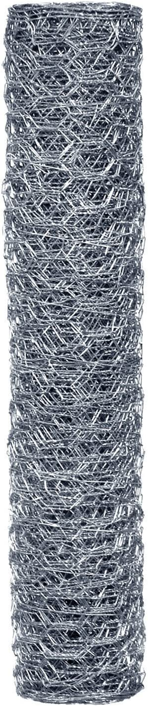 Origin Point 162425 20-Gauge Handyroll Galvanized Hex Netting, 25-Foot x 24-Inch With 1-Inch Openings 100050526