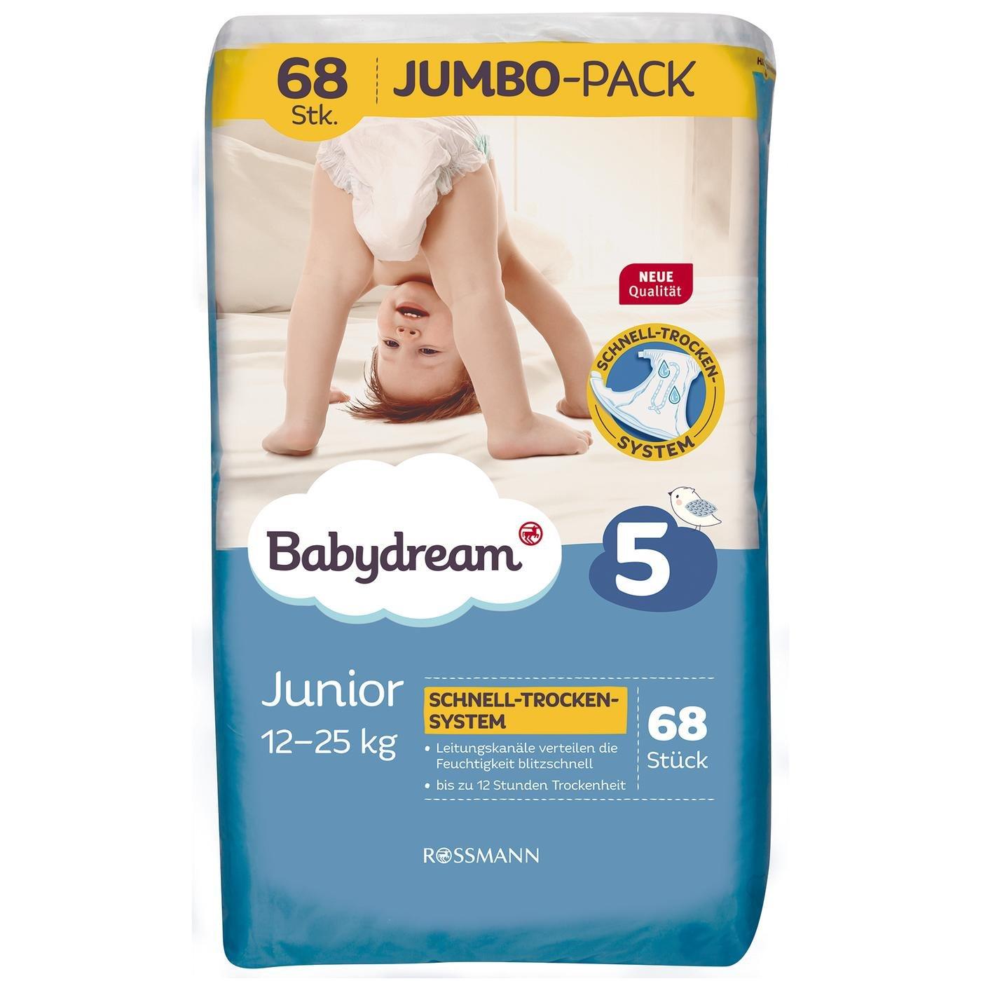 62 Stück 9-20 kg Bella Happy Babywindeln Maxi Plus Gr 4+ atmungsaktiv