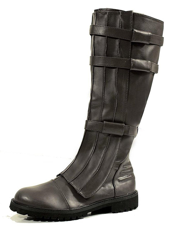 SharpSpirit Military Western Renaissance Cosplay Medieval Pirate Steampunk Gothic Mens Boots 3