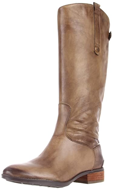 Sam Edelman Women's Penny Riding Boot,Olive,4 M US