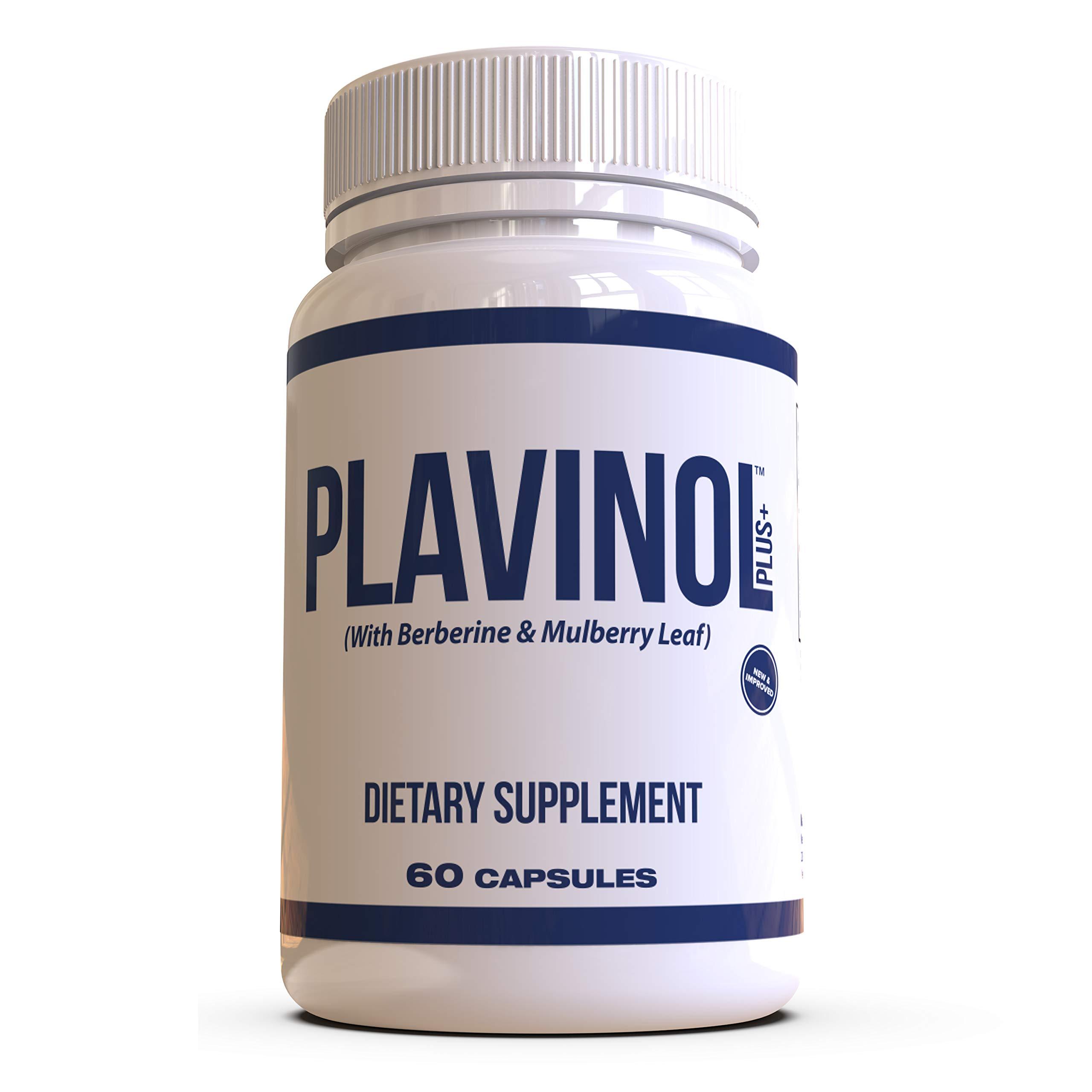Nexus Formulas - PLAVINOL - Blood Sugar and Cholesterol Control Supplement