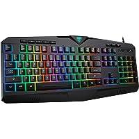 Deals on PICTEK RGB Gaming Keyboard USB Wired Keyboard