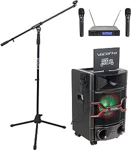 Amazon.com: Vocopro Karaoke Rock On Roller Karaoke Machine ...