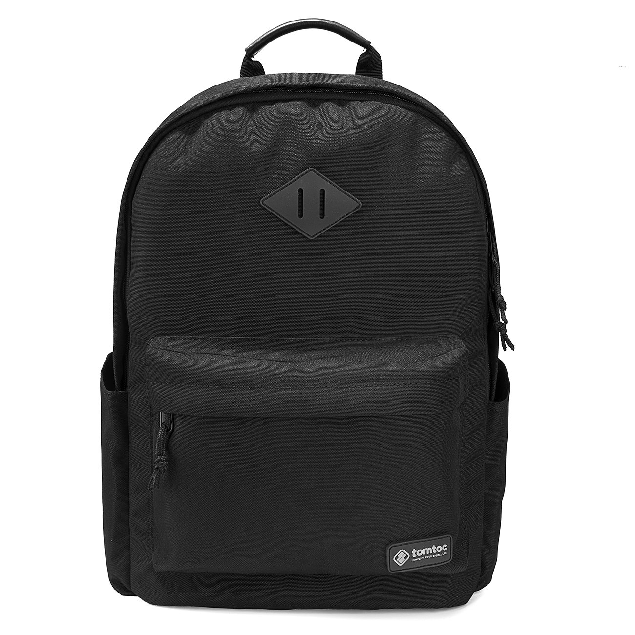 College Backpack, Tomtoc 15.6 Inch Laptop Backpack Computer Bag Daypack Travel Bag School Bookbags Weekend Bag   Fits Up To 15.6 Inch Laptops, Black by Tomtoc