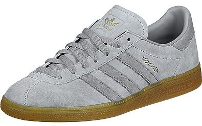 2f612795af5a6a adidas Originals Herren München Grau Wildleder Sneaker 38 2 3 ...