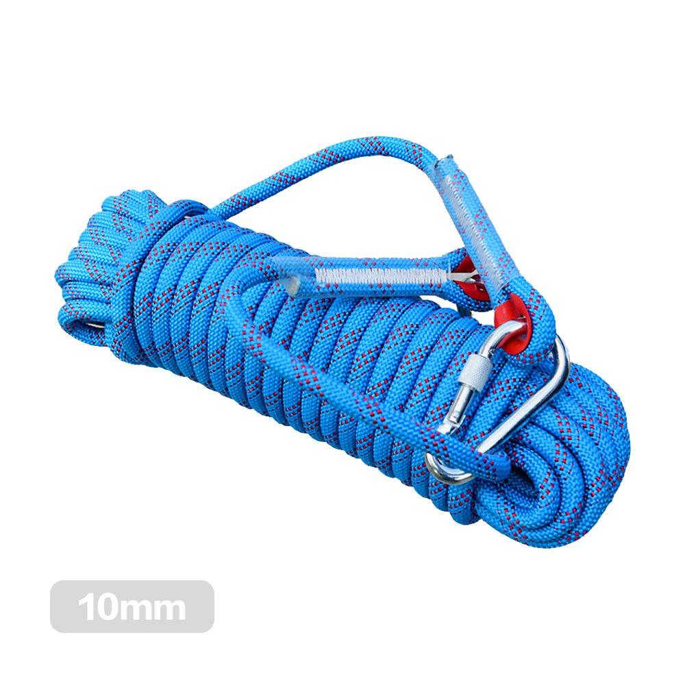10 m 12 mm Klettern Seil Hohe Festigkeit Kordel Sicherheit Survival Seil