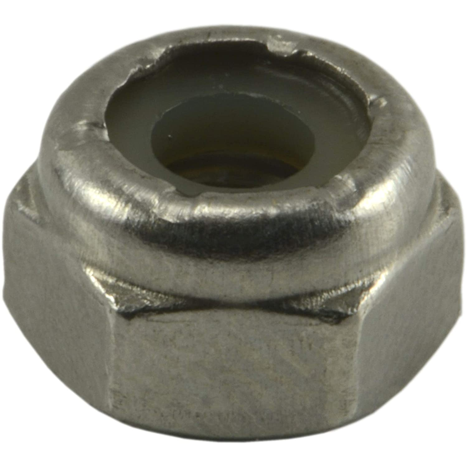 Hard-to-Find Fastener 014973191955 Coarse Nylon Insert Lock Nuts Piece-100 10-24