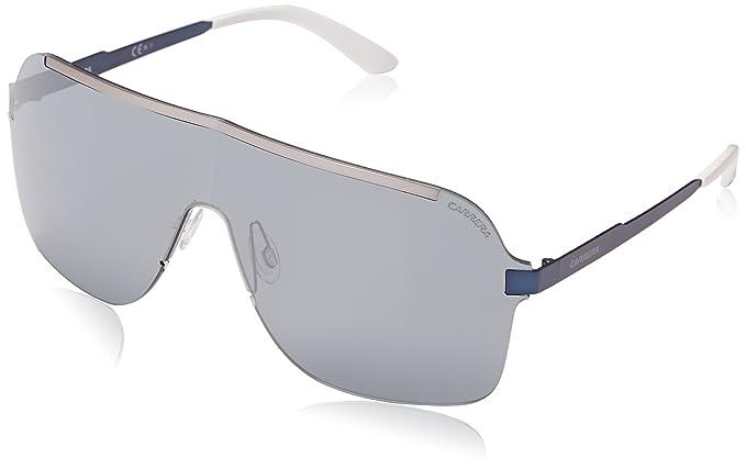 Carrera Unisex-Erwachsene 93/S T4 Sonnenbrille, Schwarz (Matte Ruthenium Bluee), 99